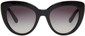 Dolce & Gabbana Black Cat-Eye Sunglasses