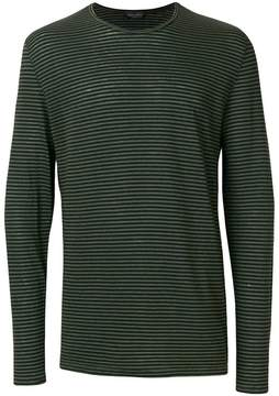 Roberto Collina long sleeved striped T-shirt