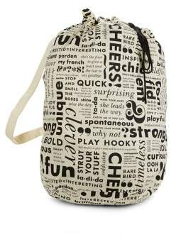 Kate Spade What Do You Say Laundry Bag - MULTI - STYLE