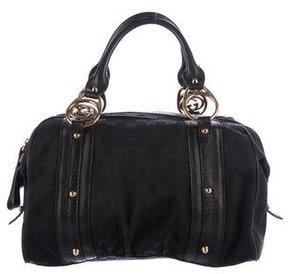 Gucci Interlocking G Boston Bag - BLACK - STYLE