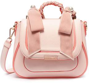 Sophia Webster 'Eloise' faux pearl bow leather crossbody bag