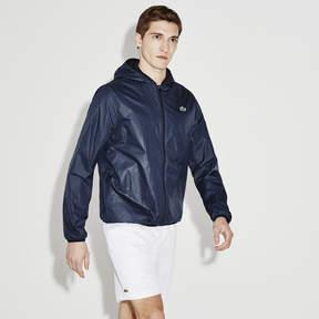 Lacoste Men's Textured Light Taffeta Jacket