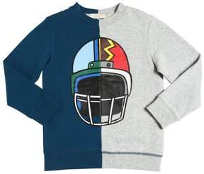 Stella McCartney Two Tone Organic Cotton Sweatshirt