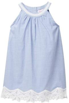Design History Chambray Dress (Toddler & Little Girls)