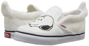 Vans Kids Classic Slip-On x Peanuts Snoopy/True White) Kids Shoes