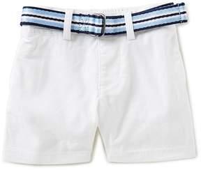 Ralph Lauren Baby Boys 3-24 Months Belted Stretch Chino Shorts