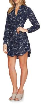 1 STATE 1.STATE Tie Front Shirtdress