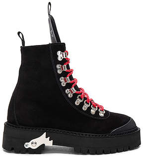Off-White Hiking Mountain Boots