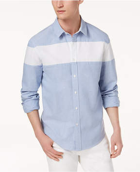 American Rag Men's Colorblocked Oxford Shirt, Created for Macy's