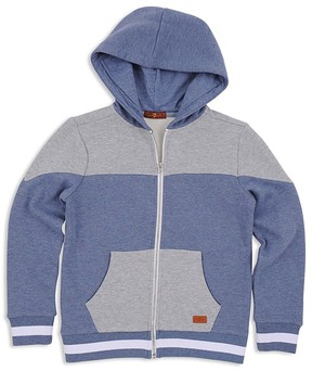 7 For All Mankind Boys' Color Block Hoodie - Little Kid
