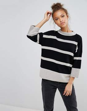 B.young Striped Sweater