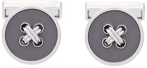 Canali button embellished cufflinks