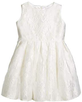 Helena Rose Jacquard Organza Dress, Size 2-6