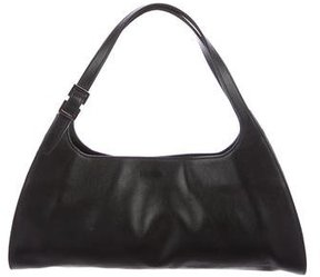 Gucci Leather Handle Bag - BLACK - STYLE