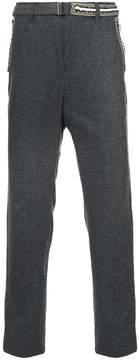 Sacai slim tailored trousers