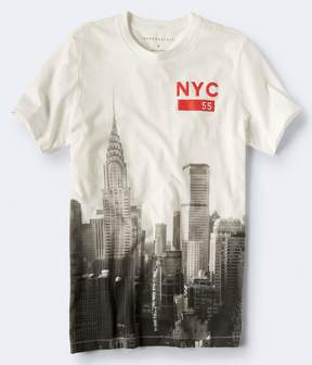 Aeropostale NYC 55 Skyline Graphic Tee***