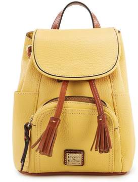 Dooney & Bourke Pebble Collection Mini Murphy Backpack - LEMON - STYLE