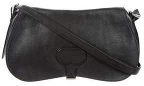 Prada Vitello Daino Buckle Shoulder Bag