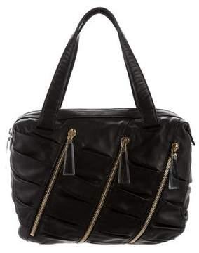 Christian Louboutin Ruched Shoulder Bag
