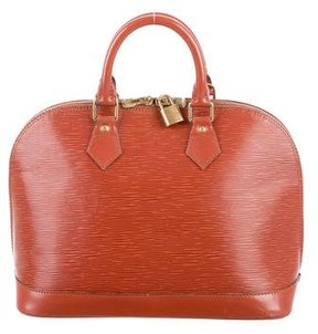 Louis Vuitton Epi Alma PM - ORANGE - STYLE