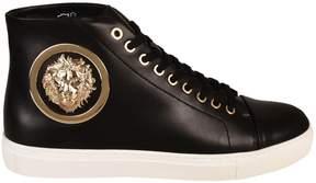 Versace Versus Lace Up High Top Sneakers