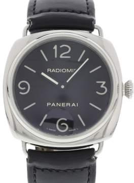 Panerai Radiomir PAM 210 / OP 6623 Stainless Steel & Leather Manual 45mm Mens Watch