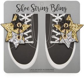 Neiman Marcus Multi-Stars Shoe Lace-On, Set of 2