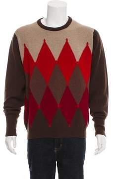 Ballantyne Cashmere Argyle Sweater