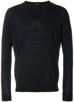 Roberto Collina classic fitted sweater