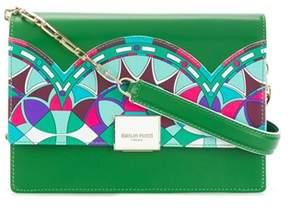 Emilio Pucci Women's Green Leather Shoulder Bag.