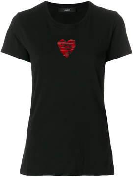 Diesel heart patch T-shirt