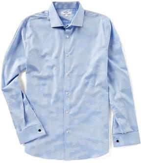 Murano Long Sleeve Slim Jacquard Shirt