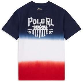 Polo Ralph Lauren Boys' Jersey Ombré Tee - Big Kid