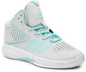 adidas Girls Cross 'Em Up Toddler & Youth Basketball Shoe