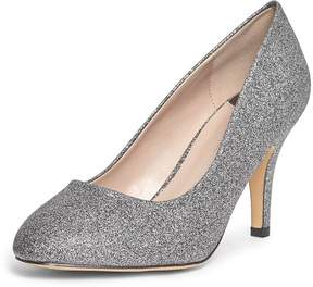 Dorothy Perkins Wide Fit Pewter 'Claudia' Court Shoes