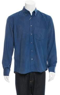 Umit Benan Corduroy Button-Up Shirt w/ Tags