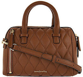 Vera Bradley As Is Quilted Leather Crossbody - Mini Marlo