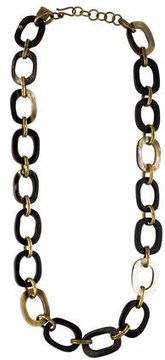 Ashley Pittman Horn Link-Chain Necklace