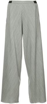 CHRISTOPHER ESBER striped wide leg trousers
