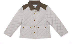 Marie Chantal Boys Waterproof Riding Jacket - Pale Grey