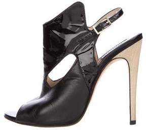 Camilla Skovgaard Leather Slingback Booties