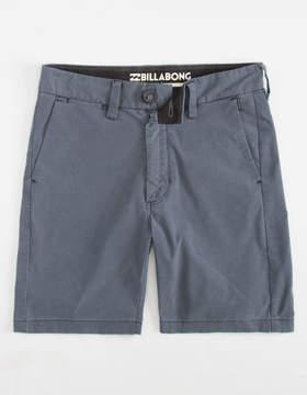 Billabong New Order X Submersibles Indigo Boys Hybrid Shorts