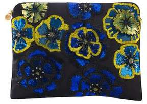 Forest of Chintz Full Bloom Clutch Bag