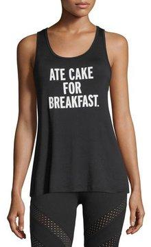 Beyond Yoga Ate Cake for Breakfast Tank