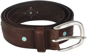 Orciani Perforated Detail Buckle Belt