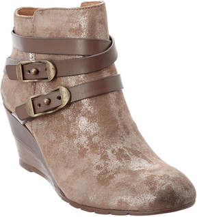 Sofft Oakes Leather Wedge Ankle Boot