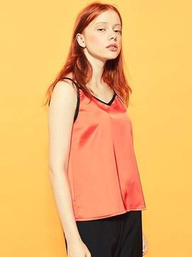 Blank Color Sleeveless-or