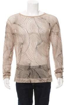 Dries Van Noten Mesh Long Sleeve T-Shirt