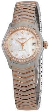 Ebel Classic Automatic Diamond White Dial Ladies Watch