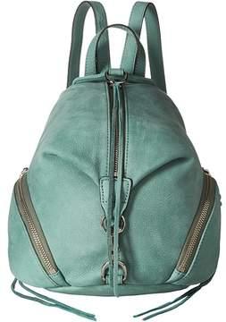 Rebecca Minkoff Medium Julian Backpack Backpack Bags - DUSTY GREEN - STYLE